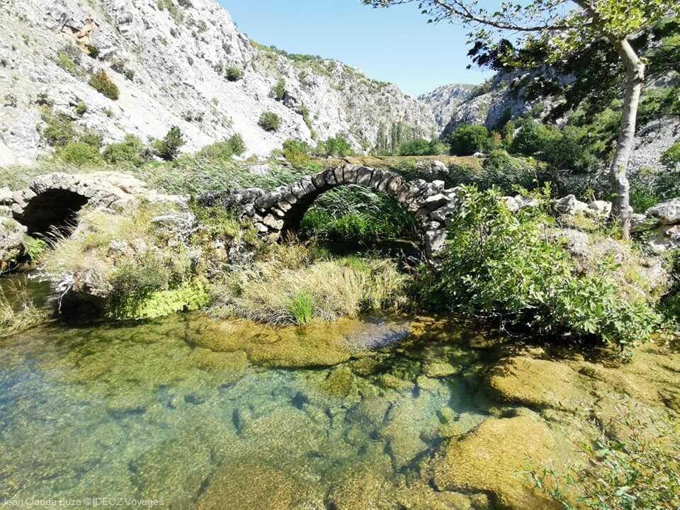 arches de pierre du pont kudin most sur la krupa