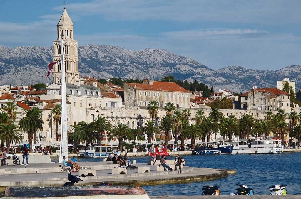 riva de split en croatie