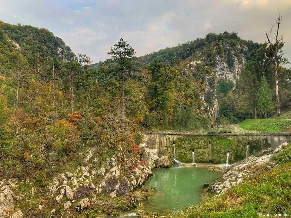 staza sedam slapova randonnée autour de buzet en istrie