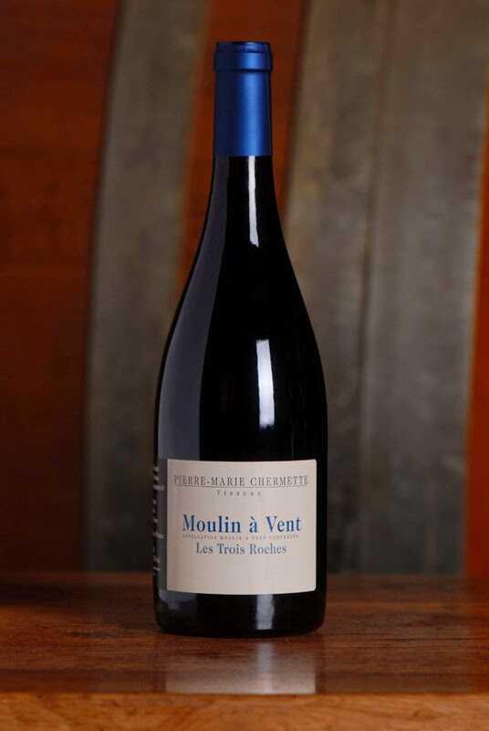vin moulin à vent les trois roches beaujolais