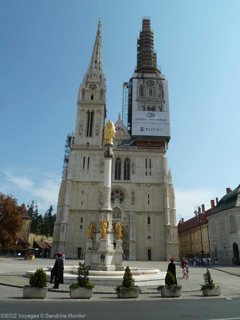 Zagreb cathédrale saint stéphane à Kaptol