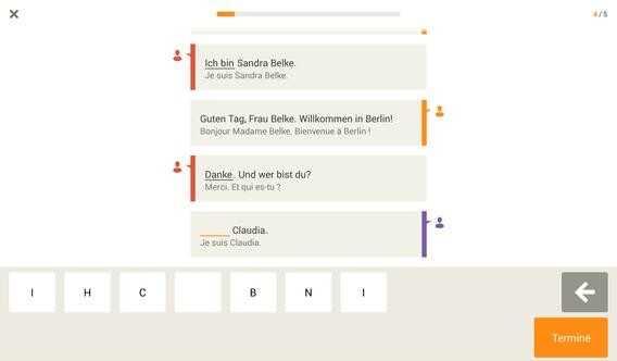 babbel allemand se présenter
