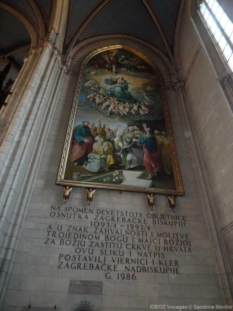 hommage pour les 900 ans de la cathédrale de zagreb