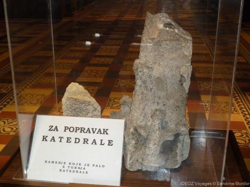vestiges zagrebska katedrale