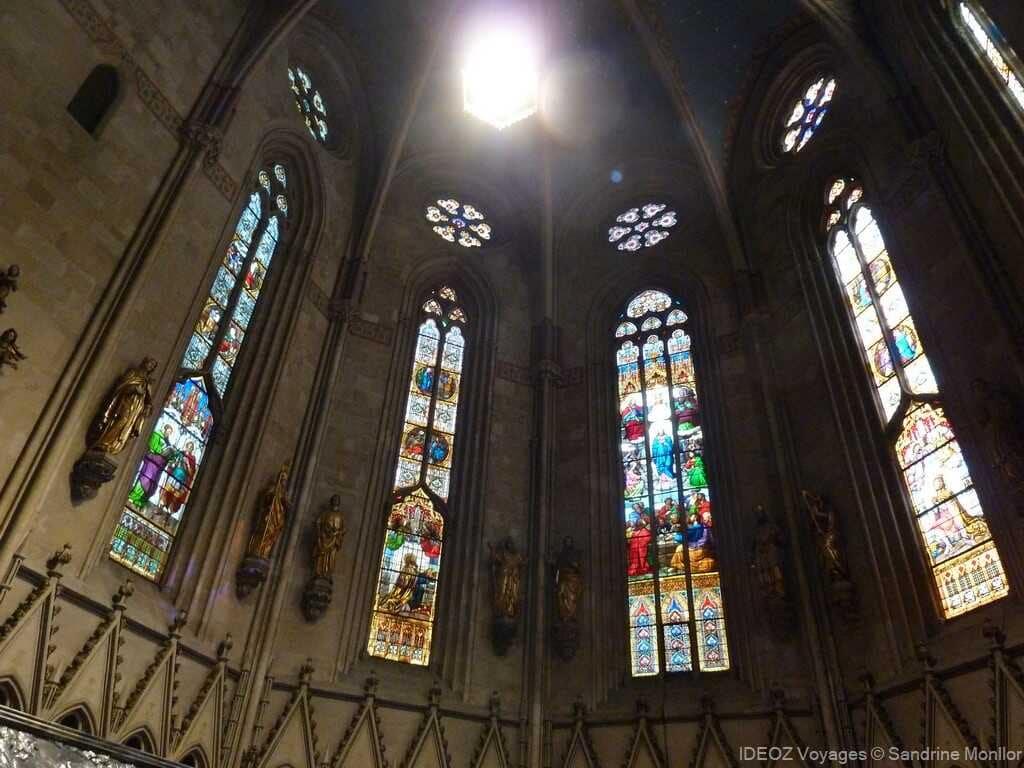vitraux de la cathédrale de zagreb