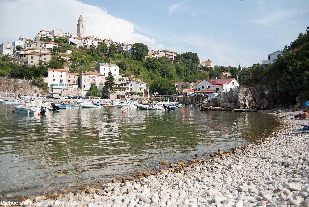 Vrbnik sur l'île de krk
