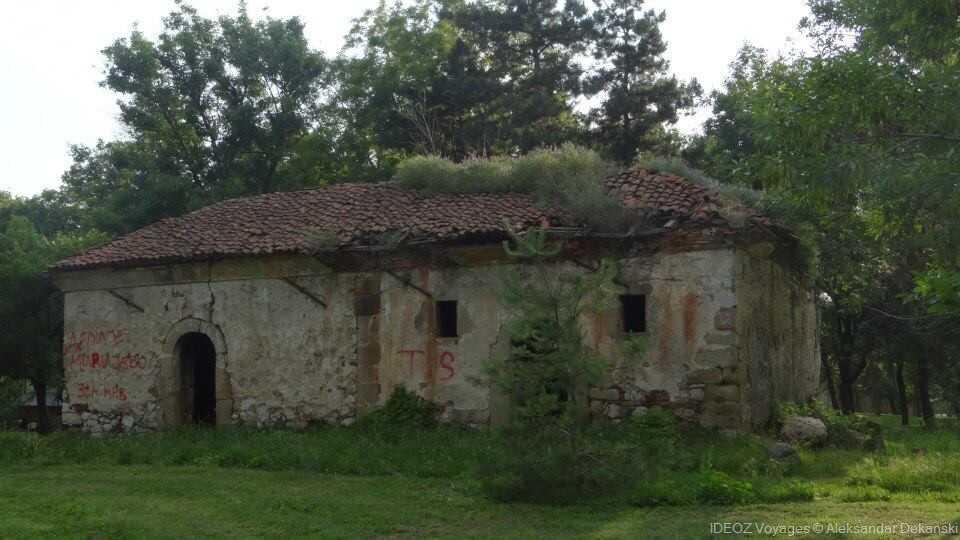 Intérieur de la forteresse de nis