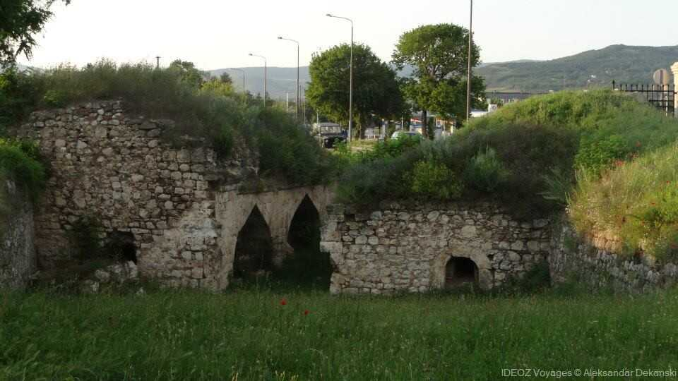 vestiges de la forteresse de Nis