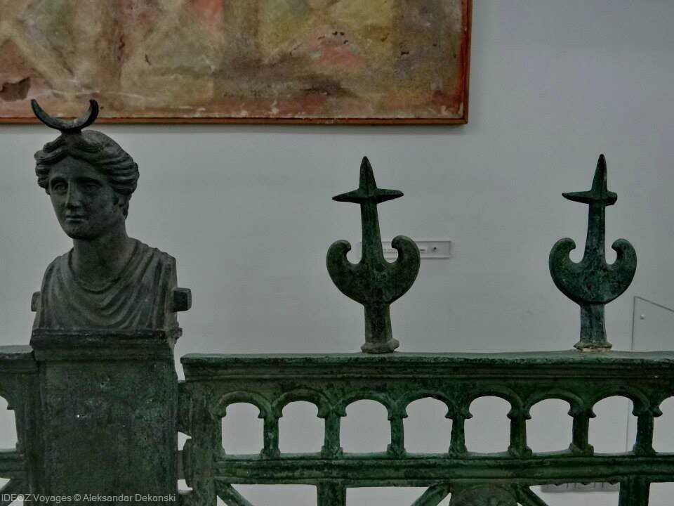 salle archéologique du musée national de nis