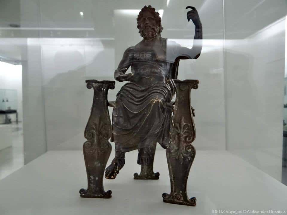 musée national de Nis salle archéologique