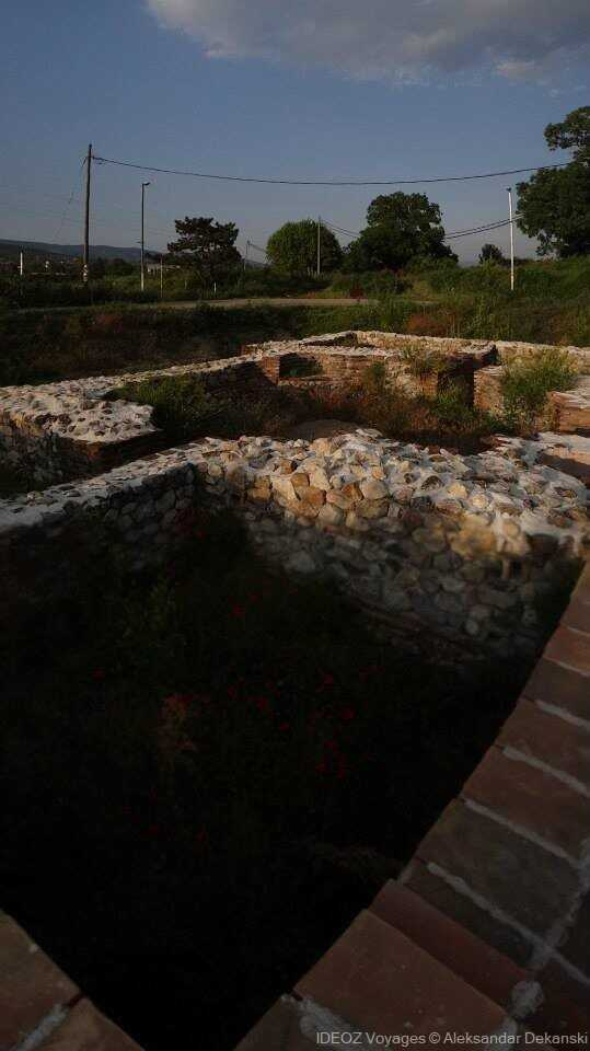 vestiges de Mediana villa romaine à nis