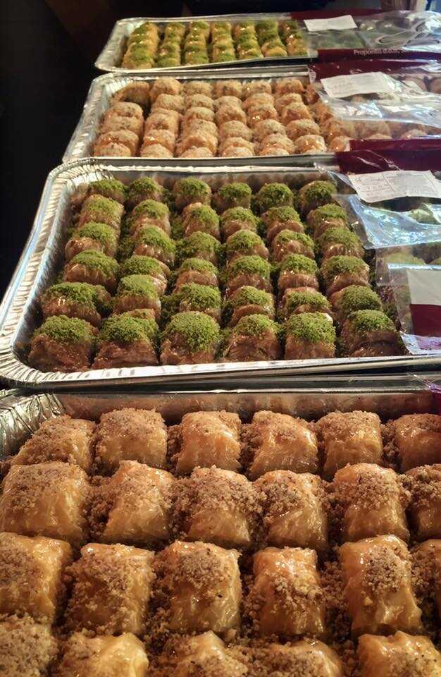 baklavas turques du Lokma from istanbul à Zagreb