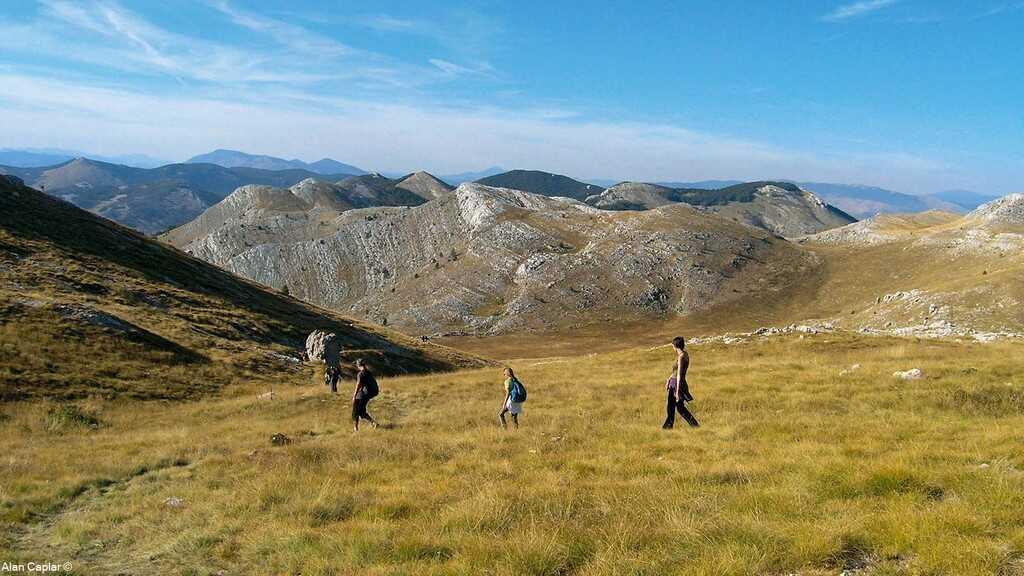 randonnée dans le massif de la dinara devenu le 12 ème parc naturel croate (photo alan caplar)