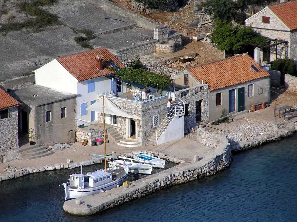 maison de pecheurs dans les kornati House antonia Kravljacica ile  kornat