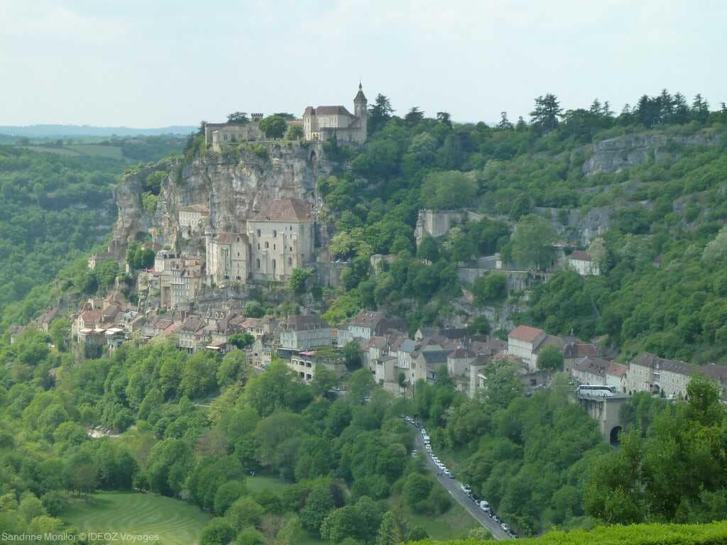 rocamadour village médiéval site remarque en occitanie
