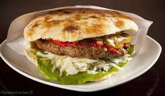 Pljeskavica en burger