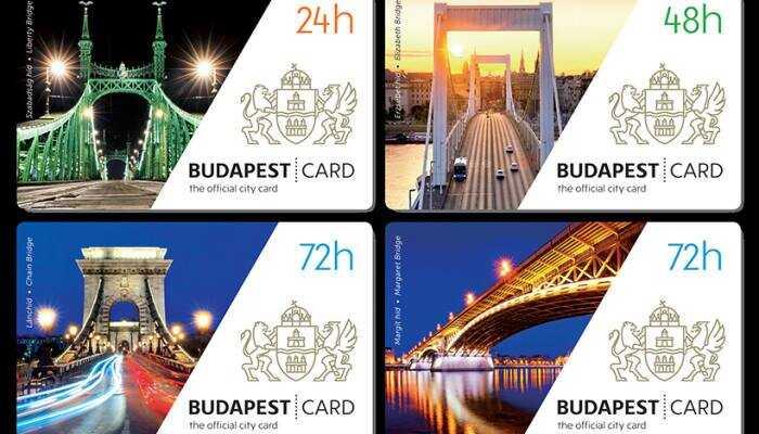 budapest card pass touristique