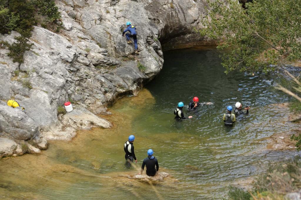 canyoning à castellane canyons du jabron
