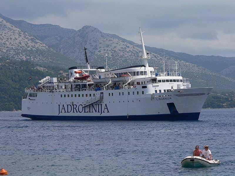 car ferry jadrolinija