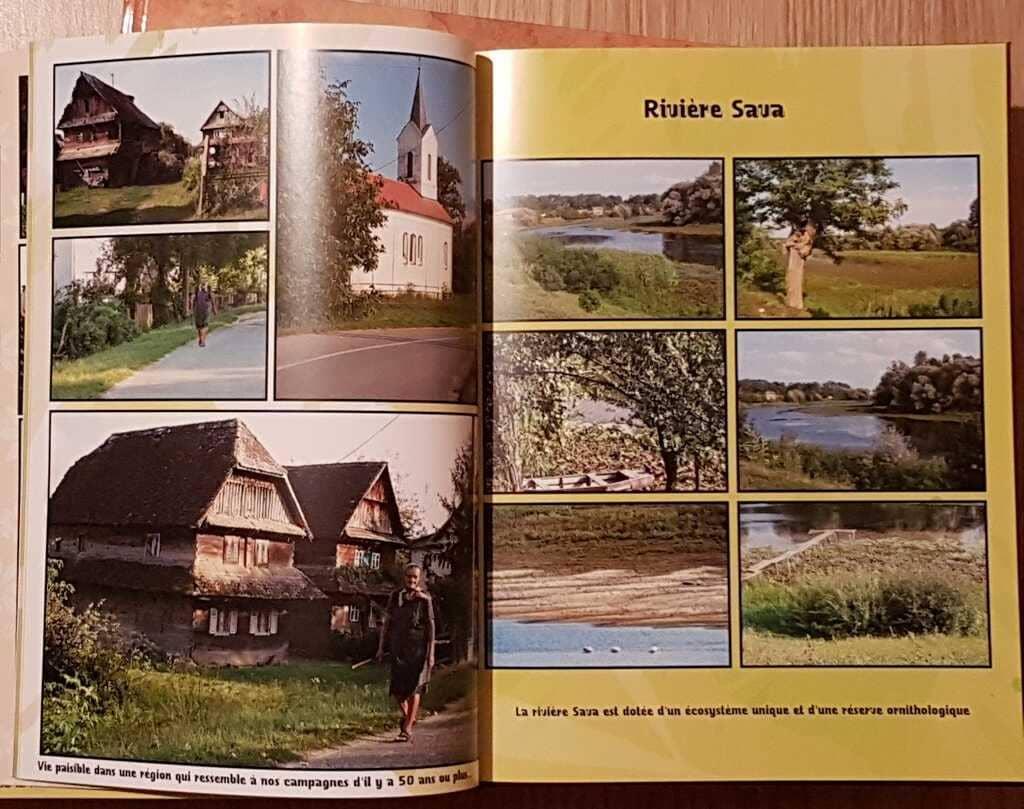 pages d'un livre photos sur la croatie