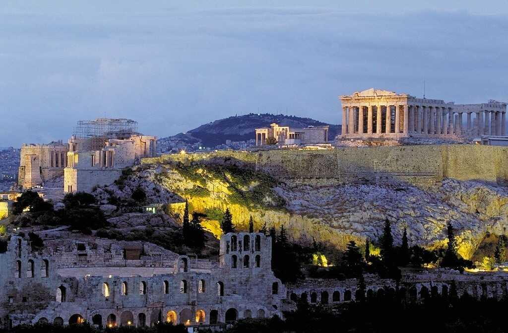 parthénon acropole à athènes