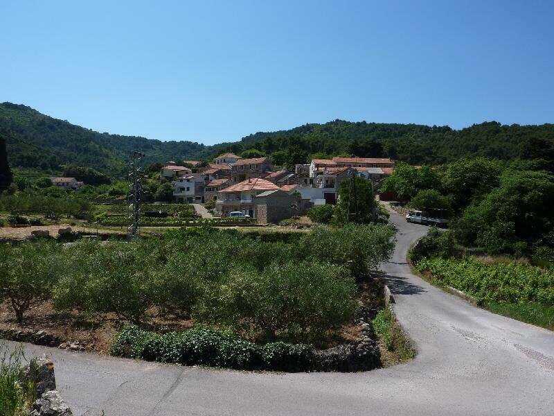 route intérieure sur l'île de Hvar