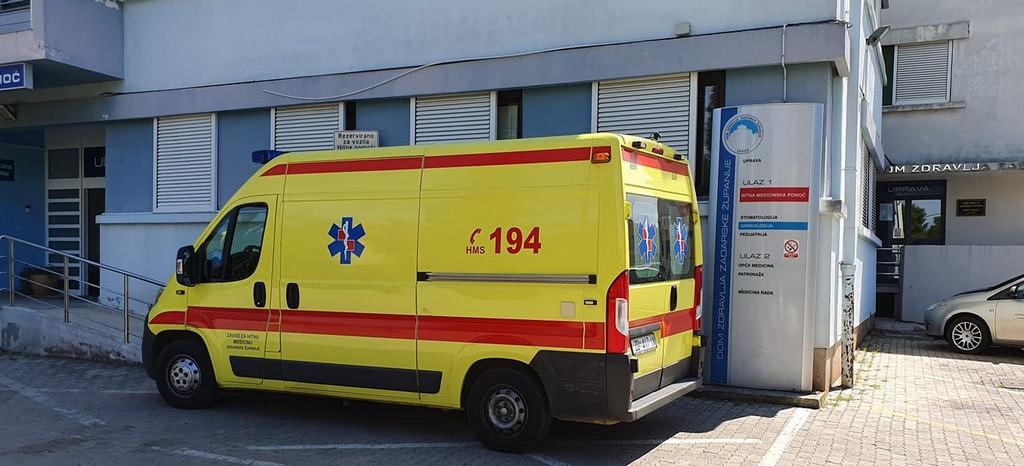 ambulance en croatie à zadar