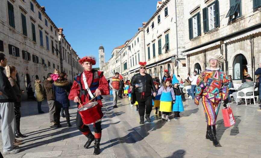 carnaval de dubrovnik karneval fest