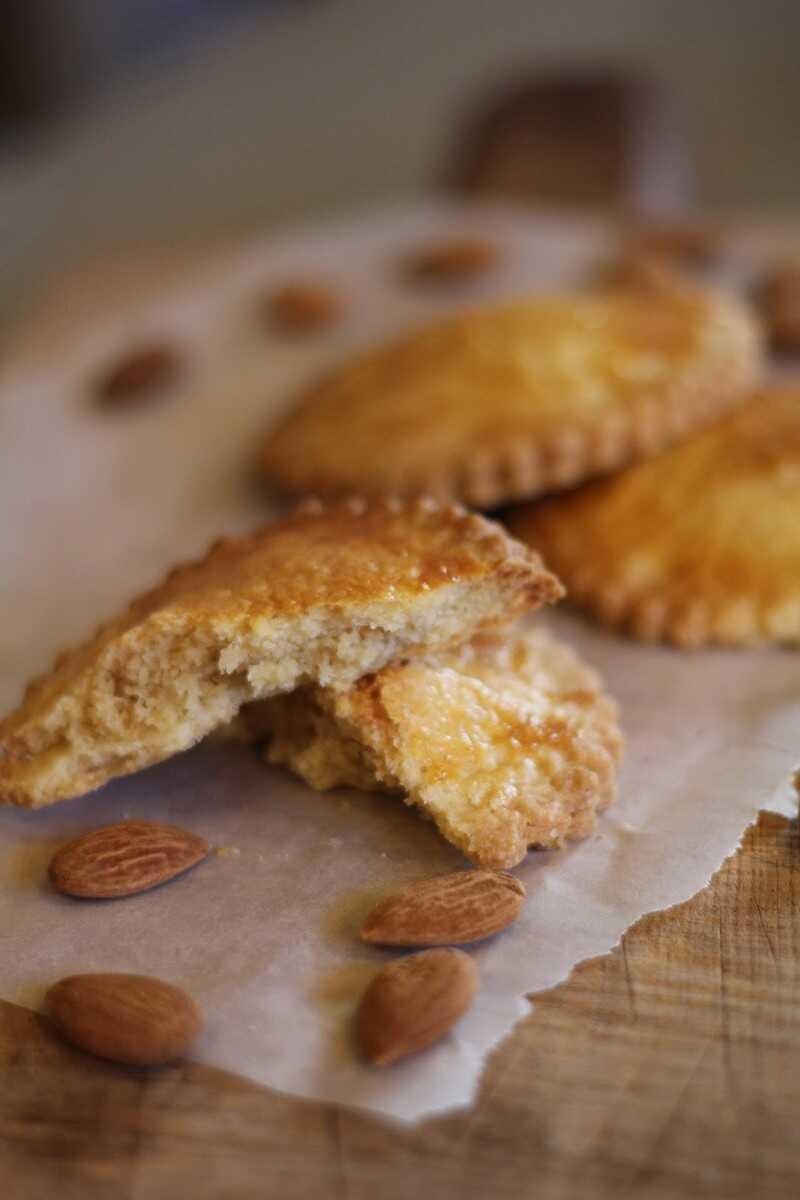 gevulde koeken sablés néerlandais aux amandes