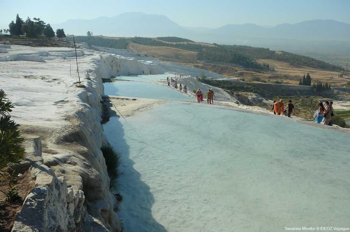 pammukale site trop touristique en turquie