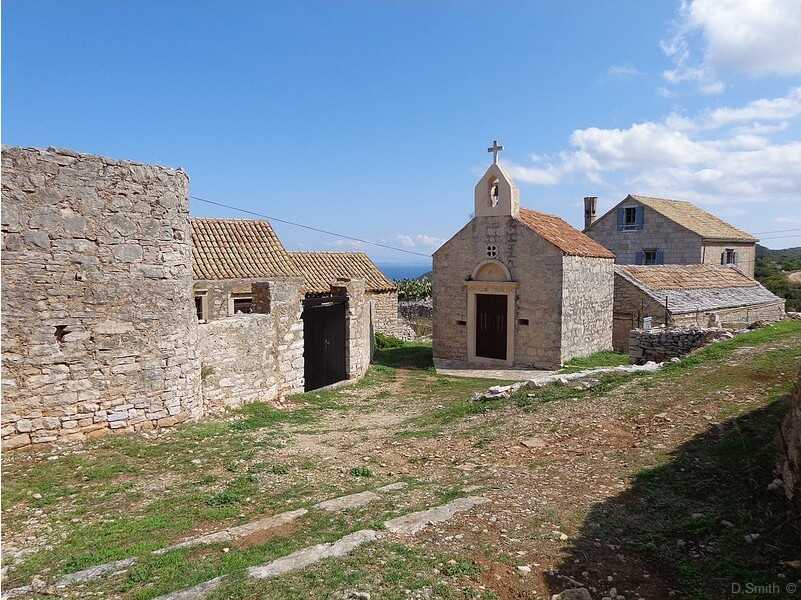 Sveti Ante Okljucna hameau sur l'île de Vis