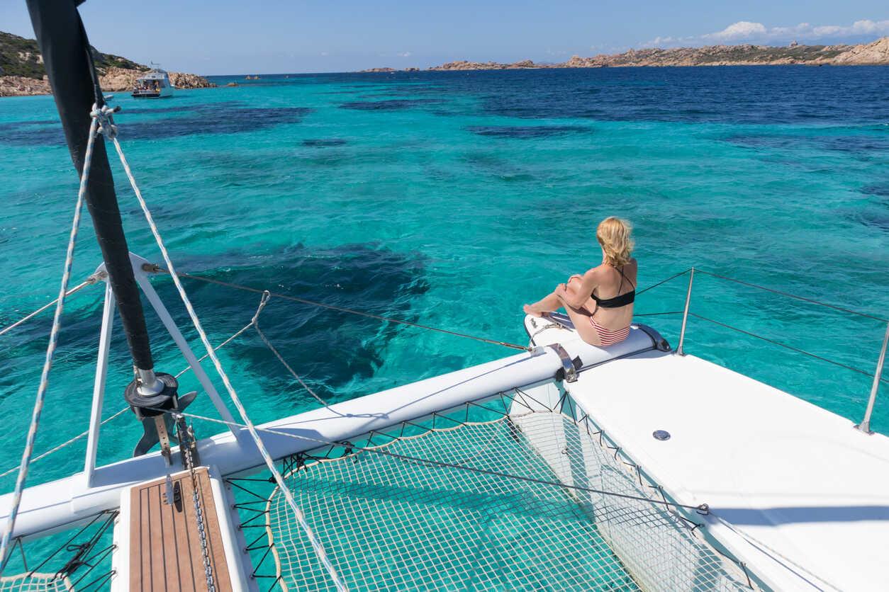 croisière dans les seychelles en catamaran