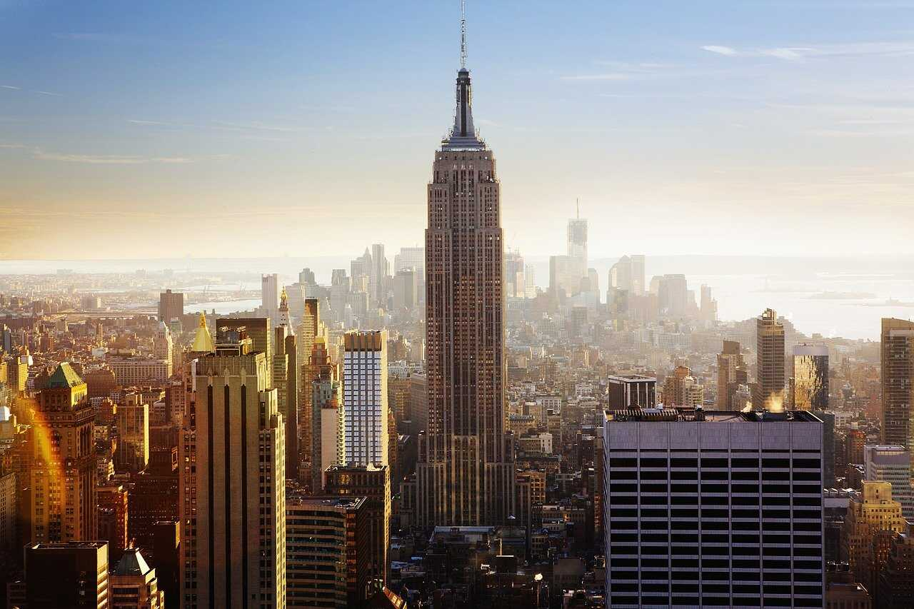 gratte ciels à new york