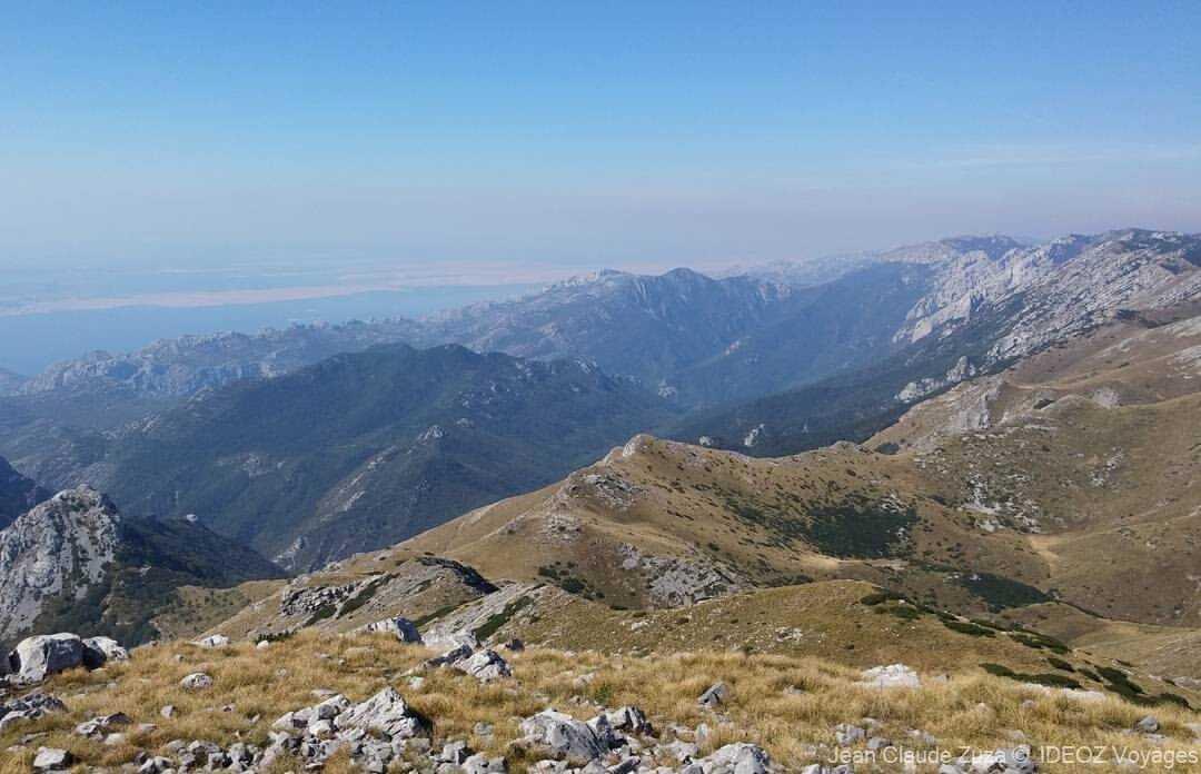 parc de paklenica en dalmatie du nord dans le massif de velebit