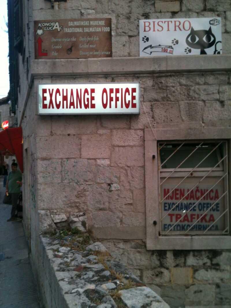 ribica exchange office split