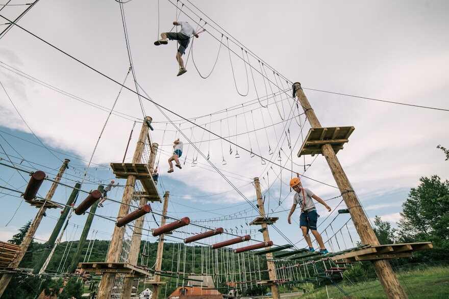 acrobranche et parcours adrenalin park plitvice