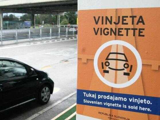 vente de vignette slovene pour les autoroutes
