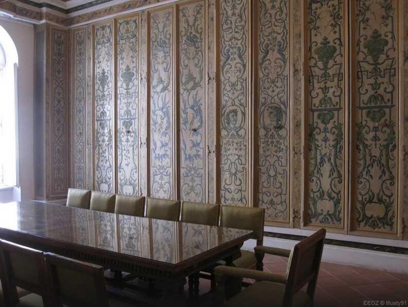dubrovnik salle du pouvoir du palais du recteur