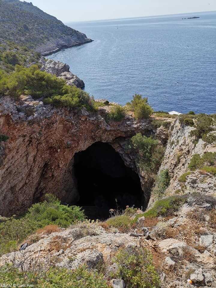 mljet grotte de lodyssee