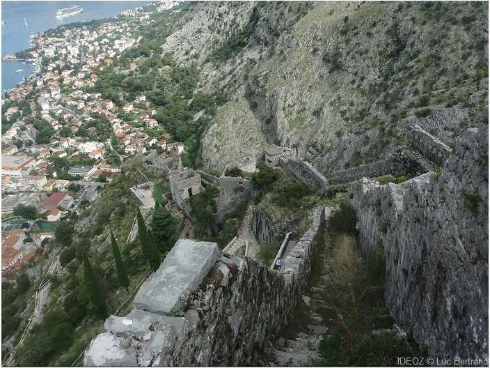 citadelle de kotor
