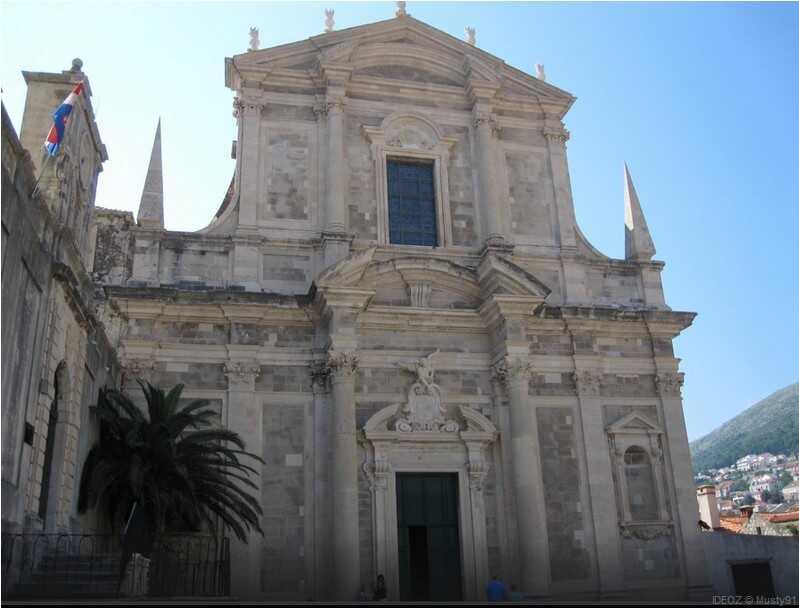 dubrovnik eglise saint ignace de loyola