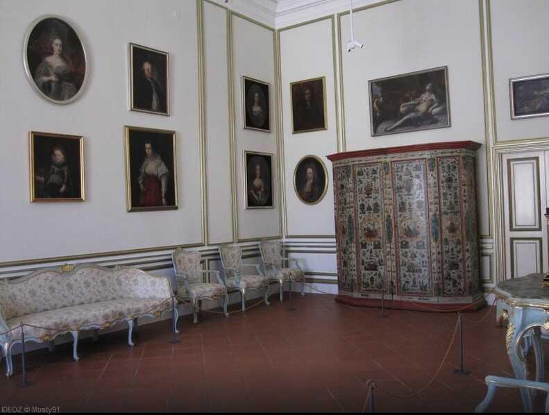 salon du palais du recteur de dubrovnik