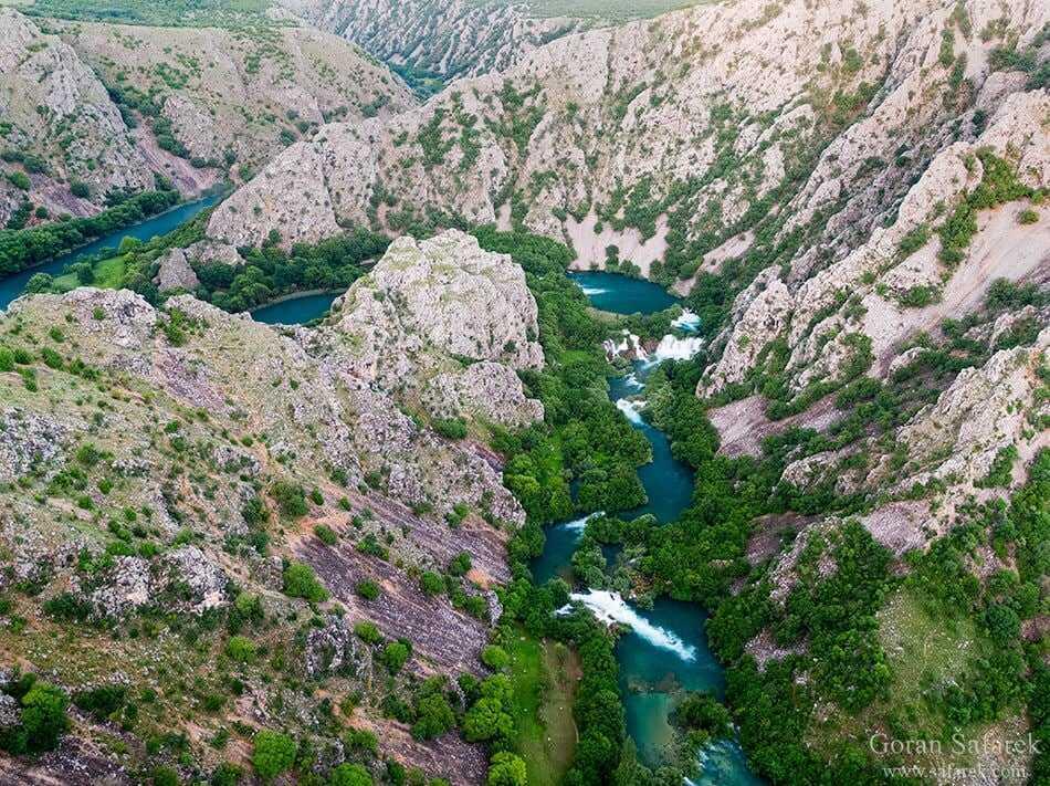 chutes de la riviere krupa