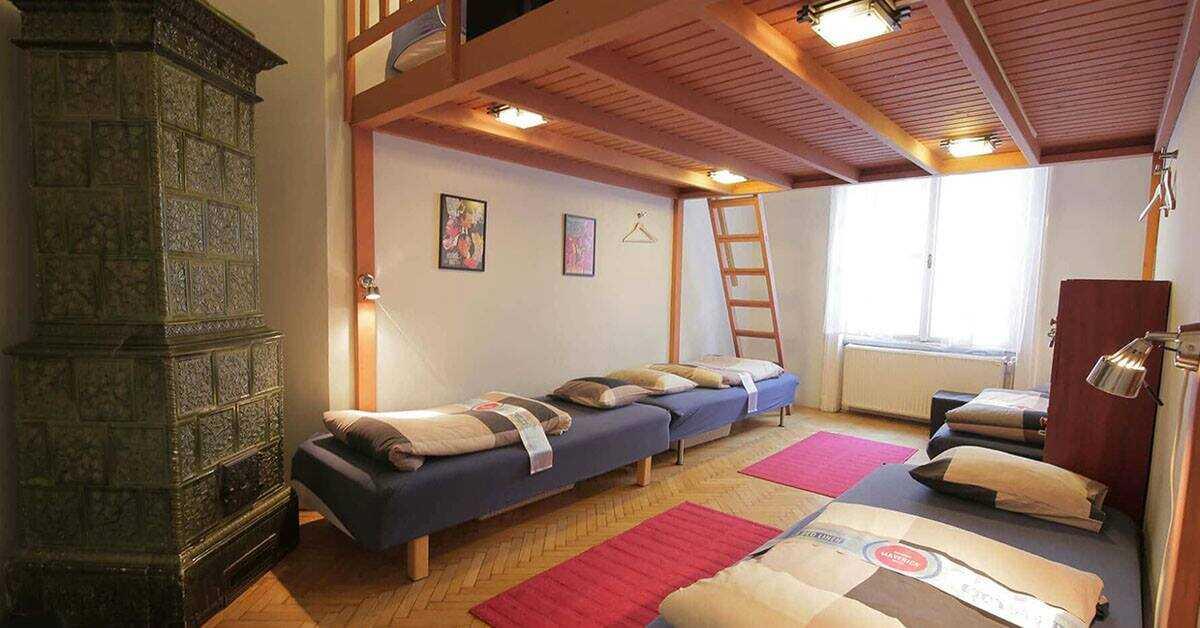 maverick hostel budapest dortoirs