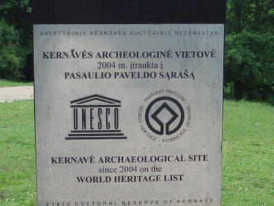 Kernavé est inscrite au patrimoine mondial de l'Unesco