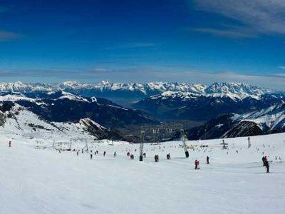 panorama ski Kitzsteinhorn
